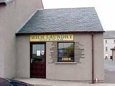 Photograph of Wick Laundry