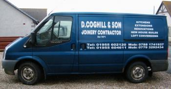 Photograph of D Coghill & Son - Joiners