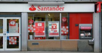 Photograph of Santander Bank