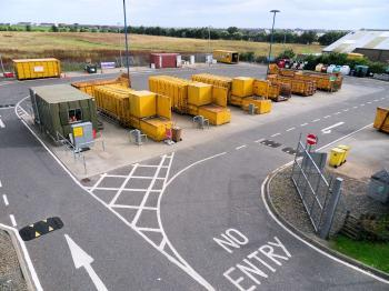Photograph of Wick Recycling Centre