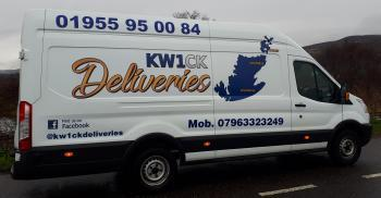 Photograph of KW1CK Deliveries