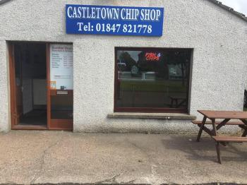 Photograph of Castletown Chip Shop