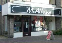 Photograph of McAllans Mens (Wick)