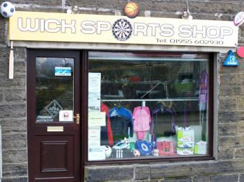 Photograph of Wick Sports Shop