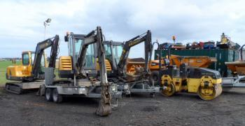 Photograph of Ross Plant Hire - Now Retired - Engineering Still Going