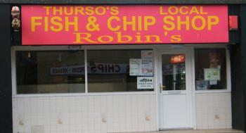 Photograph of Robin's Fish & Chip Shop