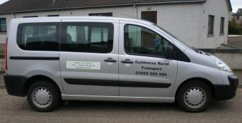 Photograph of Caithness Rural Transport (01955 605588)