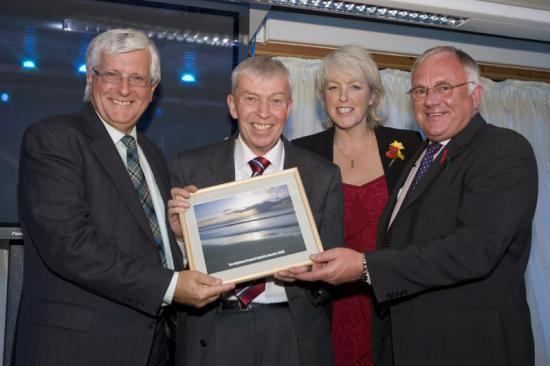 Photograph of Wick School Janitor Runner Up in Employee Of The Year Highland Council Quality Awards