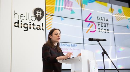 Photograph of Datafest20 Launched In Inverness