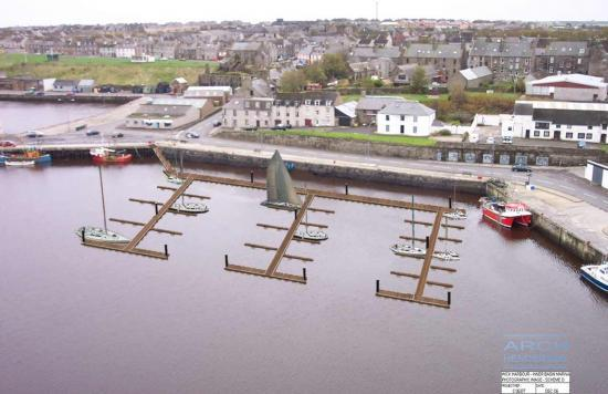 Photograph of New Marina For Wick Harbour By 2009 Sailing Season