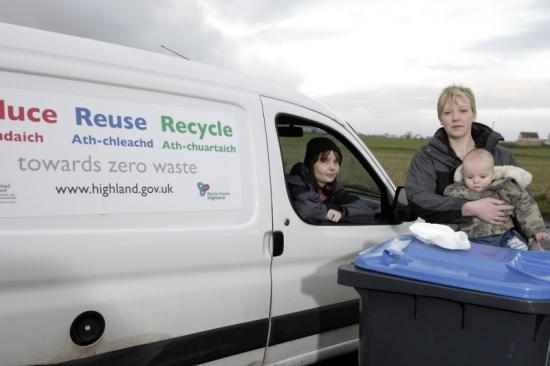 Photograph of Good Start For Rural Kerbside Recycling Collections In Caithness