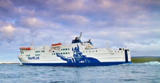 Photograph of Serco NorthLink Ferries maintains lifeline service to Northern Isles