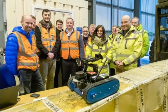 Photograph of Dounreay Explores Decommissioning With Robotics Experts