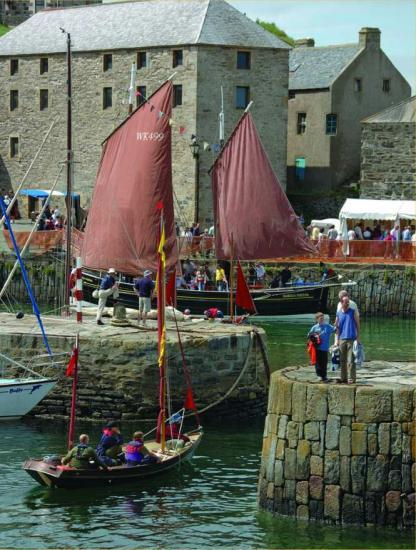 Photograph of Bigger and better 2009 boat festival at Portsoy