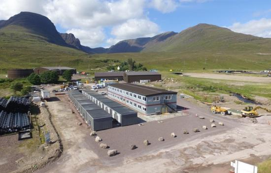 Photograph of Funding Boost For Wester Ross Dry Dock Accommodation Project