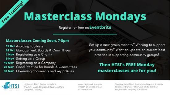 Photograph of Third Sector Master Classes - Free