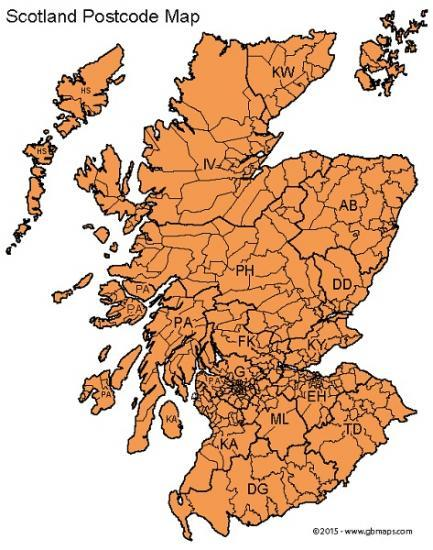 Photograph of Scottish Government Launch Postcode Tracker For Covid Tier Rules