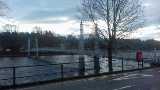 Photograph of Historic Inverness bridge may need to close