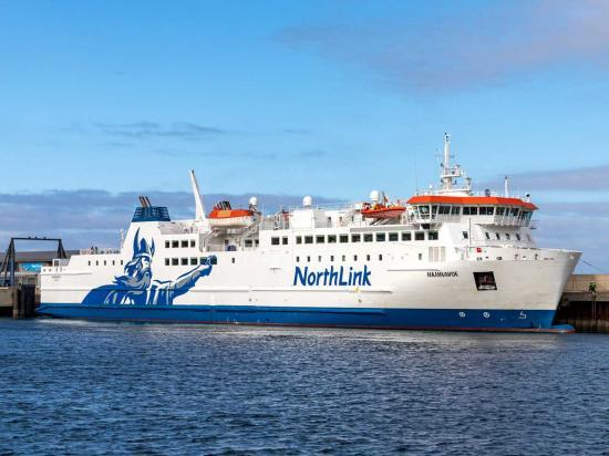 Photograph of Serco NorthLink Ferries reveals passenger numbers for first two months of 2021