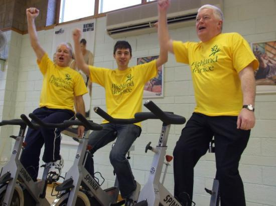 Photograph of Highland Council Can Get On Their Bike For Hospice!
