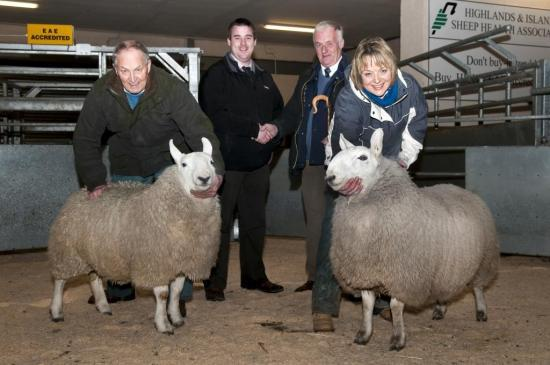 Photograph of Dingwall & Highland Marts Sale 25 February 2010