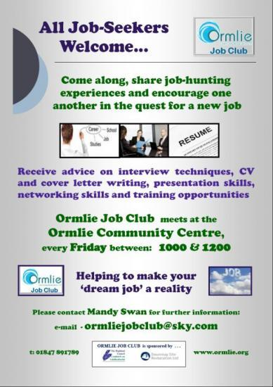 Photograph of New JOB CLUB Opening soon in THURSO
