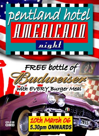 Photograph of Americano Night, Friday 10th March