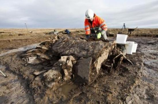 Photograph of Clean-up Reveals 6000 Years Of Human History