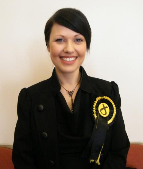 Photograph of Gail Ross Wins With Huge Majority For SNP