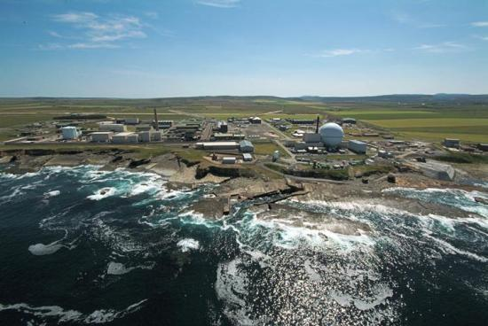 Photograph of NDA -  On Fuel Removal From Dounreay