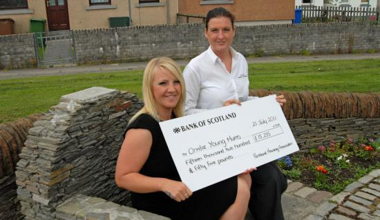Photograph of Ormlie Young Mums Funding Boost