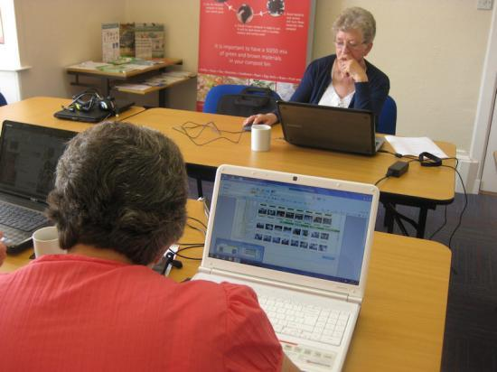 Photograph of Lybster Learners Enjoy Internet Lessons