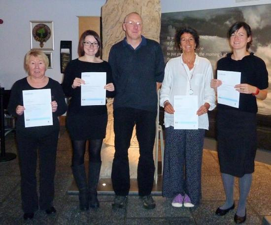 Photograph of Caithness Horizons Staff Gain Cultural & Heritage Award