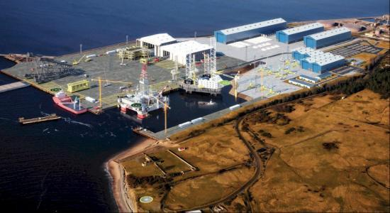Photograph of Nigg Yard Finally Sold To Global Energy Group