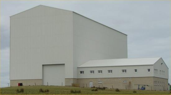 Photograph of UK's First Purpose Built Nuclear Decommissioning Test Centre