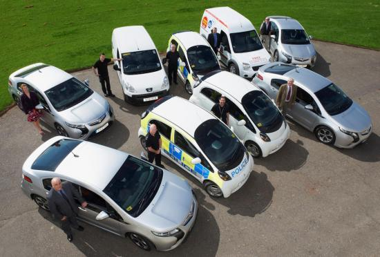 Photograph of Electric Cars Help Reduce Carbon Footprint In The Highlands
