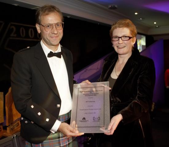 Photograph of KP Technology Wins Highland and Islands' Business Award