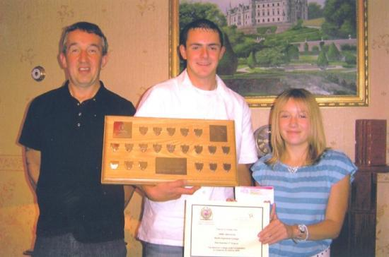 Photograph of Wick Joinery Firm's Apprentice Awarded Best In Scotland