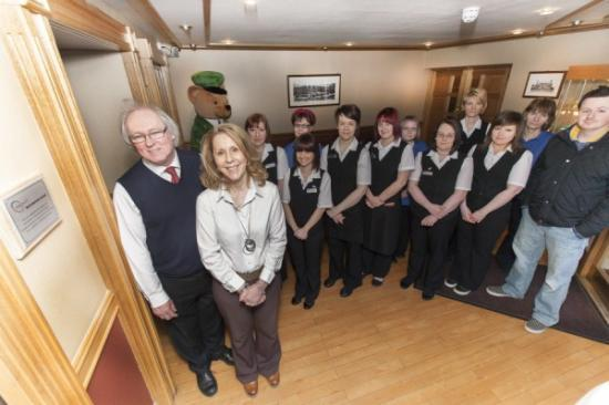 Photograph of Mackays Hotel Officially Recognised as �Staymakers� by Olympic Training Scheme