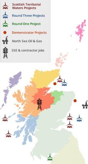 Photograph of Interactive Map Shows How Many Work In Growing Energy Sector