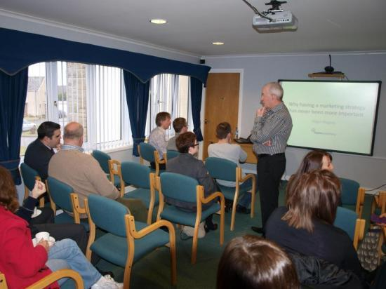 Photograph of Marketing Breakfast Success by Caithness Chamber of Commerce