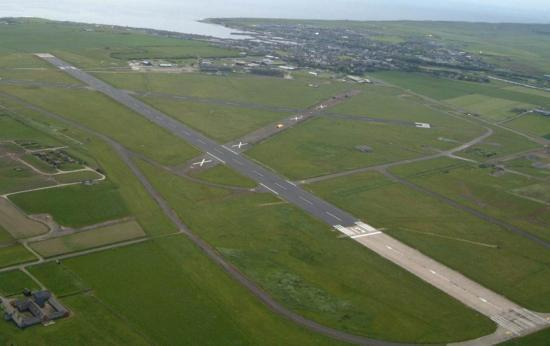 Photograph of Huge Increase In Passenger Numbers At Wick John O'Groats Airport