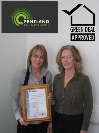 Photograph of Pentland Energy Advice becomes a Green Deal Approved Organisation