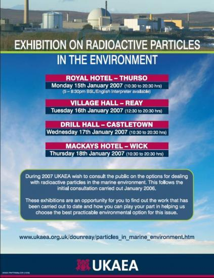 Photograph of Public Invited To Exhibitions About Particles