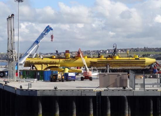 Photograph of Energy first for revamped Scrabster Harbour