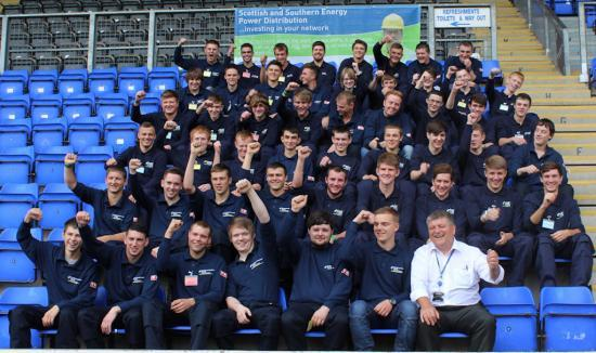 Photograph of New Power Generation Of Apprentices Join SSE