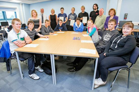 Photograph of Young Caithness People Get Job Ready Experience From DSRL