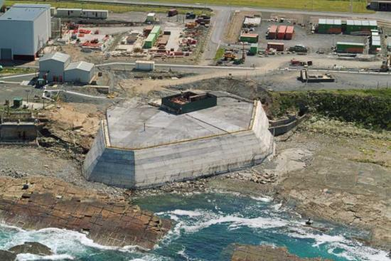 Photograph of Isolation Of Dounreay's Shaft Commences