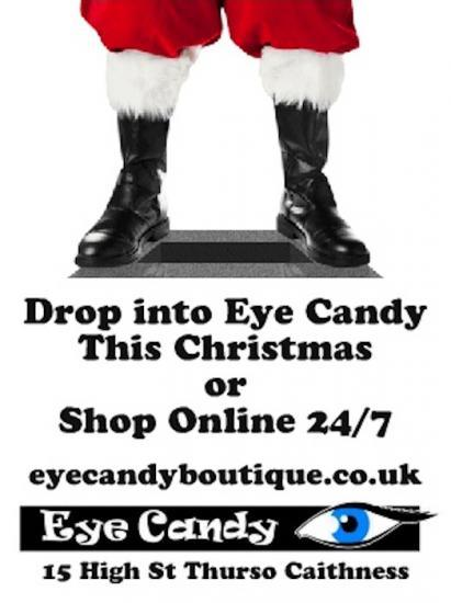 Photograph of Drop Into Eye Candy This Christmas