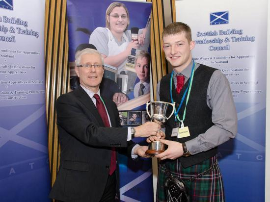 Photograph of Caithness Apprentice Scoops Top Civil Engineering Apprentice Award